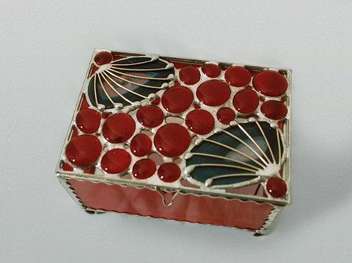 Box. Stained Glass, Handmade