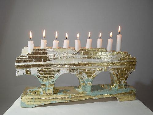 Candlestick Chanukiah (Big)