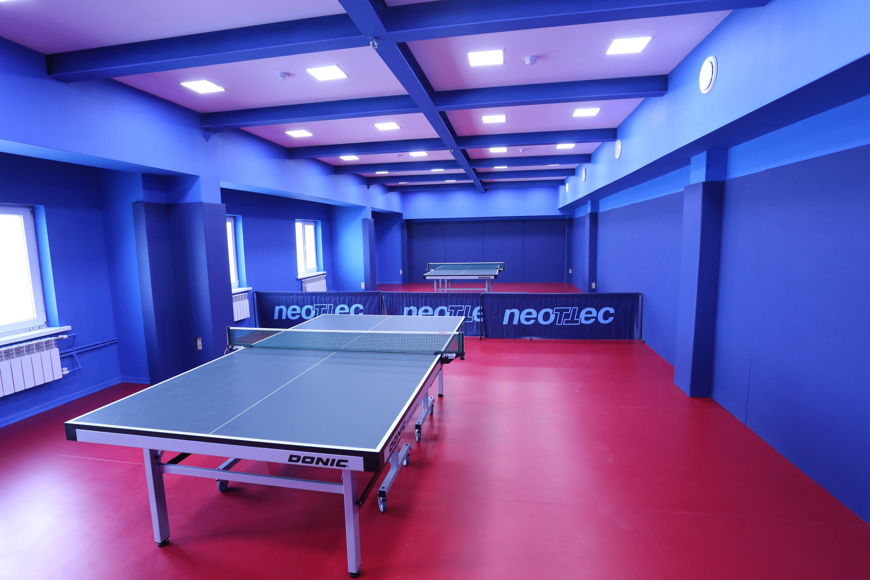 Настольный теннис в Спорткомплексе В