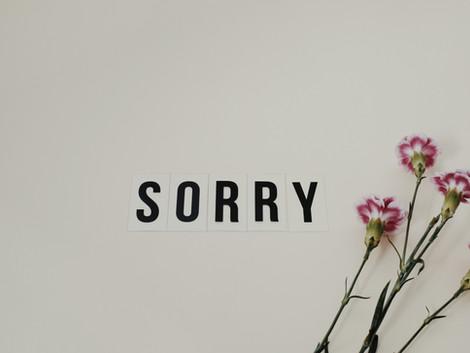 סליחה מכל הלב