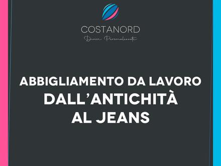 Abbigliamento da lavoro dall'antichità al Jeans