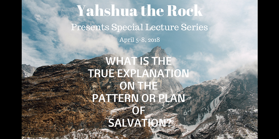 What is the True Explanation of Salvation? Day 2 AM