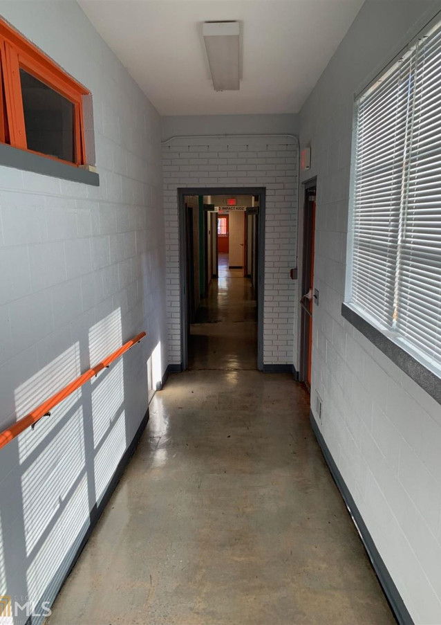 Hallway with Accessible Ramp