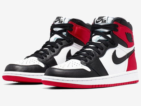 "Air Jordan 1 WMNS Satin ""Black Toe"""