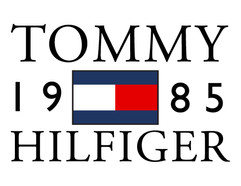 Tommy Hilfiger 1985 - Layout Graphic