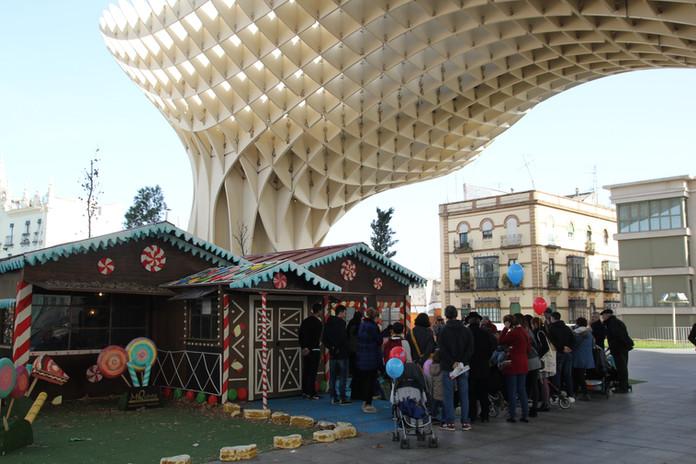 La cabaña del bosque en Sevilla (2016)