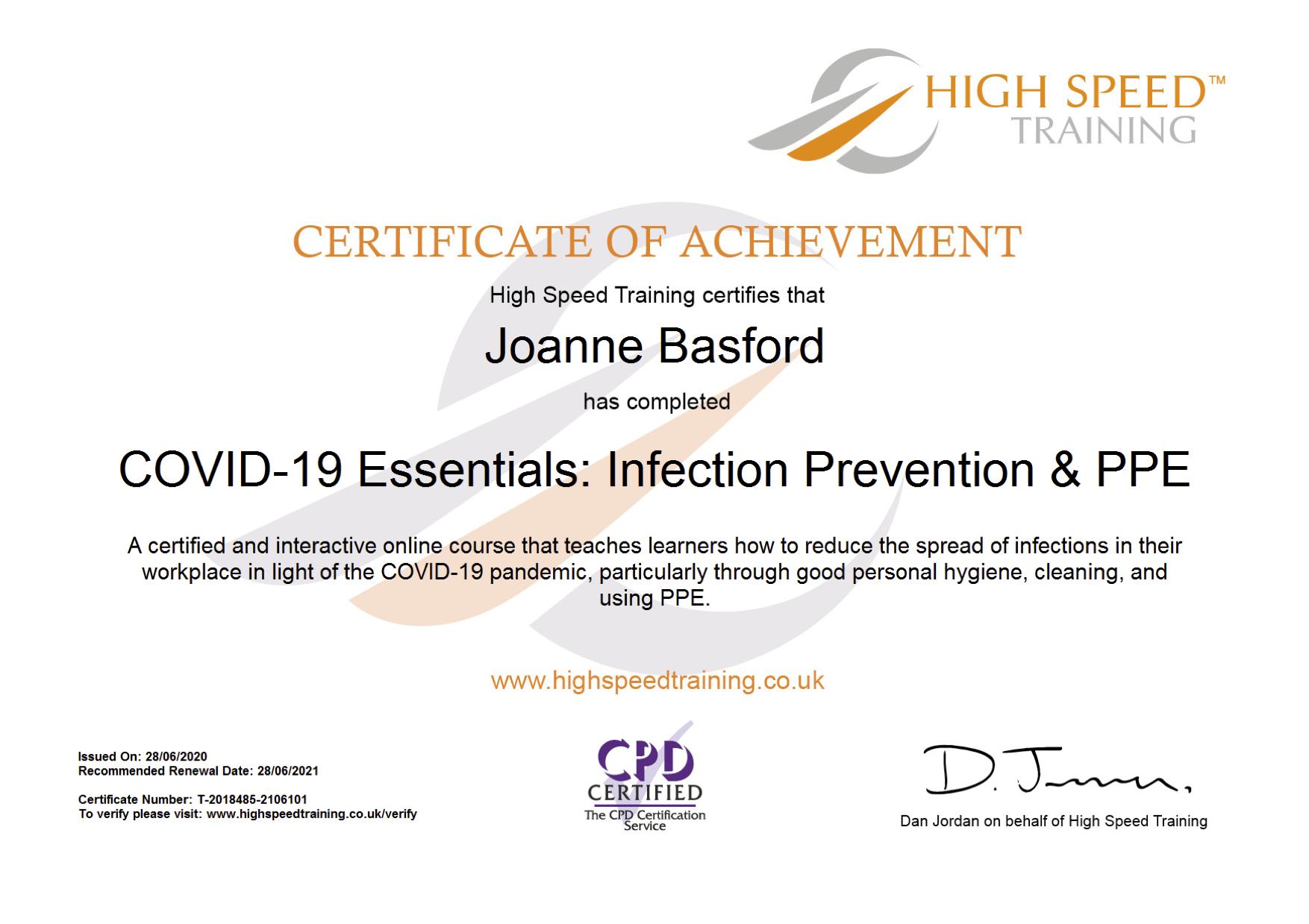 Joanne Basford-COVID-19 Essentials_ Infe