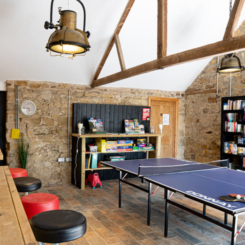 Cottage Games Room