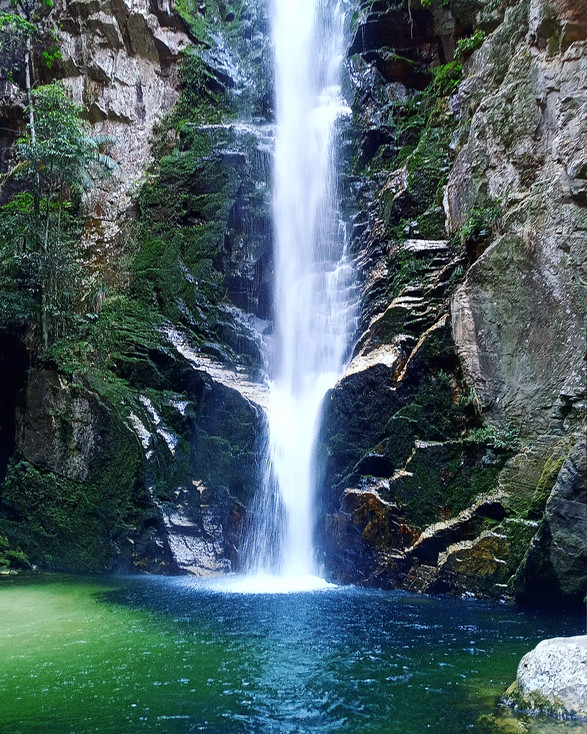 Cachoeira do Alpinista
