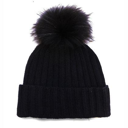 Cappello Cashmere PonPon