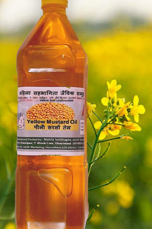 Yellow Mustard Oil ( 1 litre )