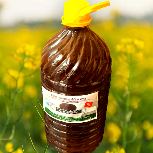 Black Mustard Oil - 5 Litre