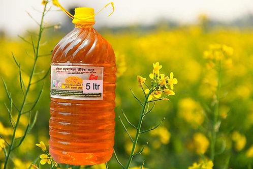Yellow Mustard Oil - 5 Litre