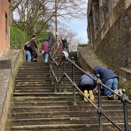 The Sixty Steps in the Year of Covid