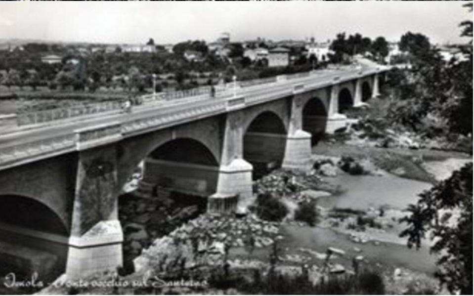 Imola, Ponte di Viale Dante (Anni '60)