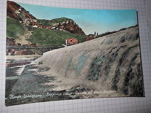 Borgo Tossignano. Cascata. Cartolina Anni '60