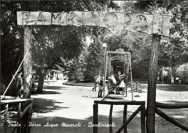 Imola, Bambinopoli Acque Minerali. Cartolina Anni '60