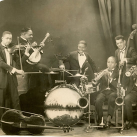 Leon Abbey's Band, 1925