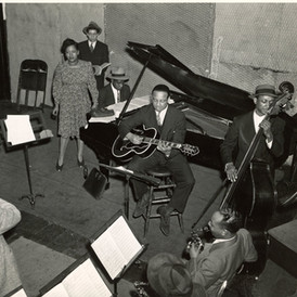 Billie Holiday, Columbia studios, February 1940
