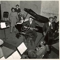 Billie Holiday, Columbia studios, February 1940
