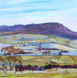 SOLD Simonside hills from High Trewhitt