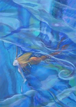 Swimming Mermaid (2)