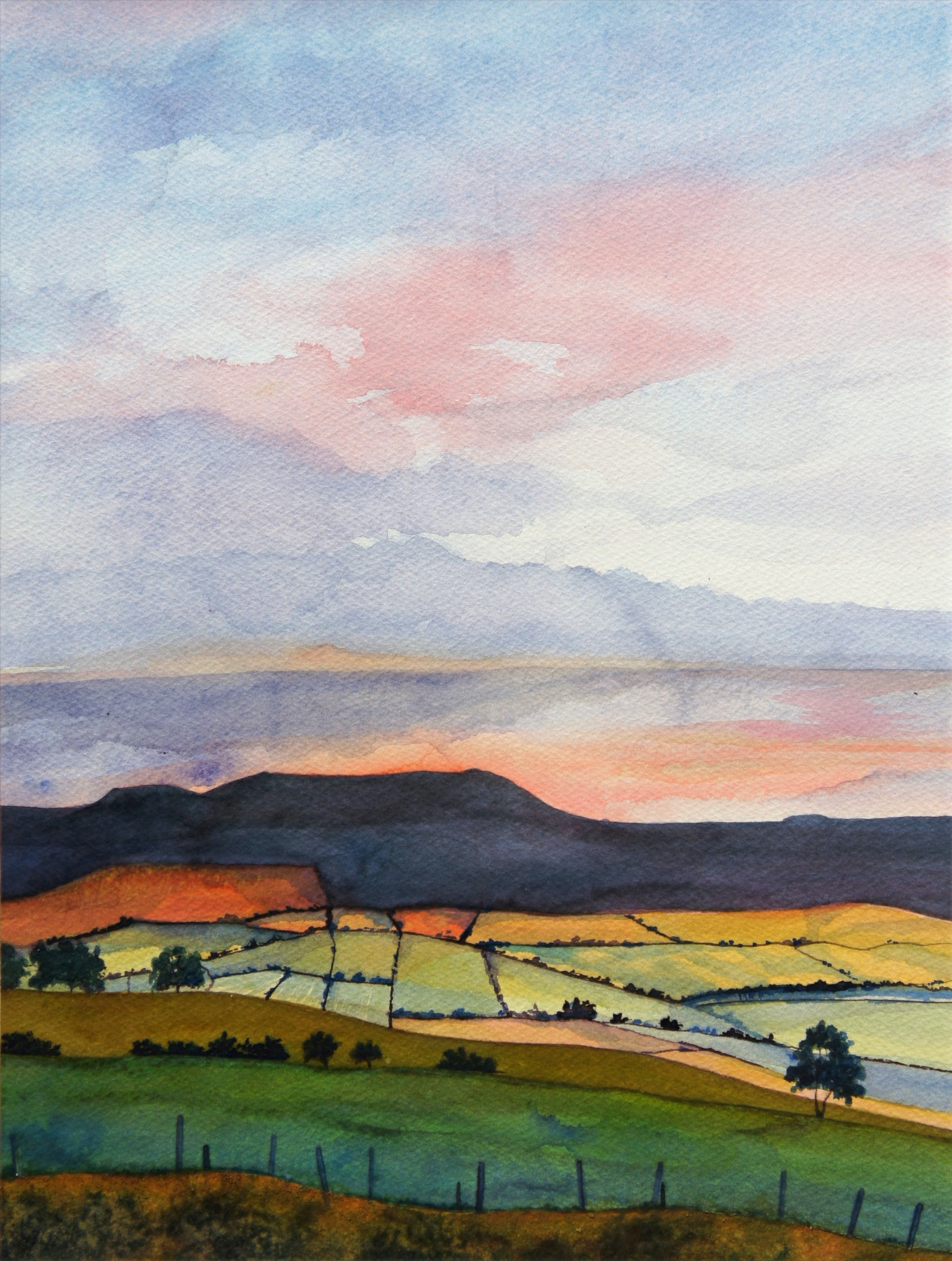 Evening Simonside SOLD