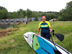 learn to paddleboard in cookham