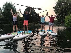 paddle board cookham