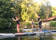 paddleboarding boulters lock  maidenhead
