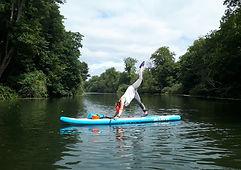 Paddle board maidenhead SUP yoga