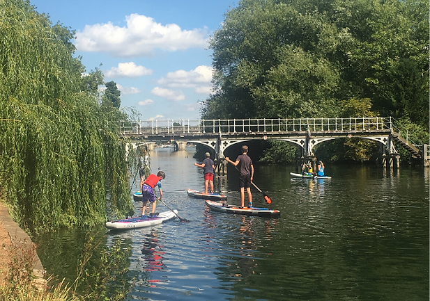 taplow riverside Paddle board school all ages SUP