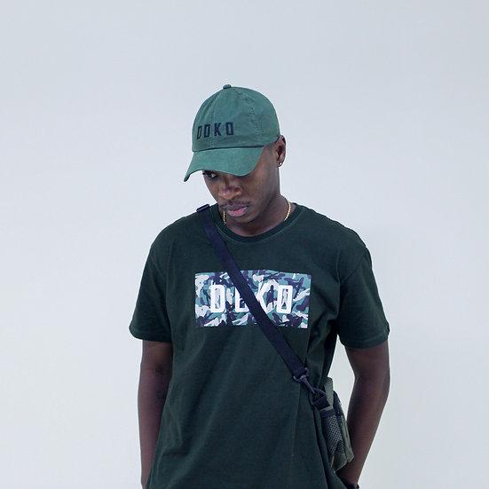 Boné Dad Hat Verde Militar Camo
