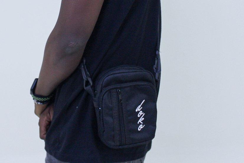Shoulder Bag Preto Logo