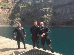 Adrian, Will Millard and Tim