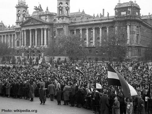 Az 1956-os forradalomra és szabadságharcra  emlékezünk