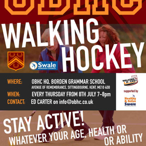 """""""IT'S HOCKEY...BUT WALKING! WE'RE LAUNCHING WALKING AT OBHC ALL ABILITIES WELCOME!!"""