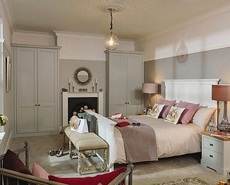Chartwell Bedroom Partridge Grey Colour.