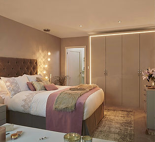 Pluckley Bedroom Gloss Cashmere Image 1.