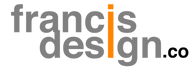 Francis Design Co Logo Grey Orange.png