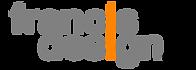 Francis Design Co Logo Grey Orange.png