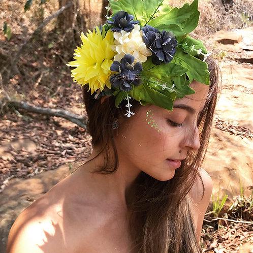 Arco Folhas +Flores