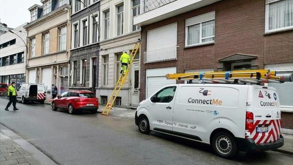 Connect-ME Werken straat