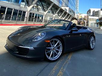 Porsche 911 Carrera Rental