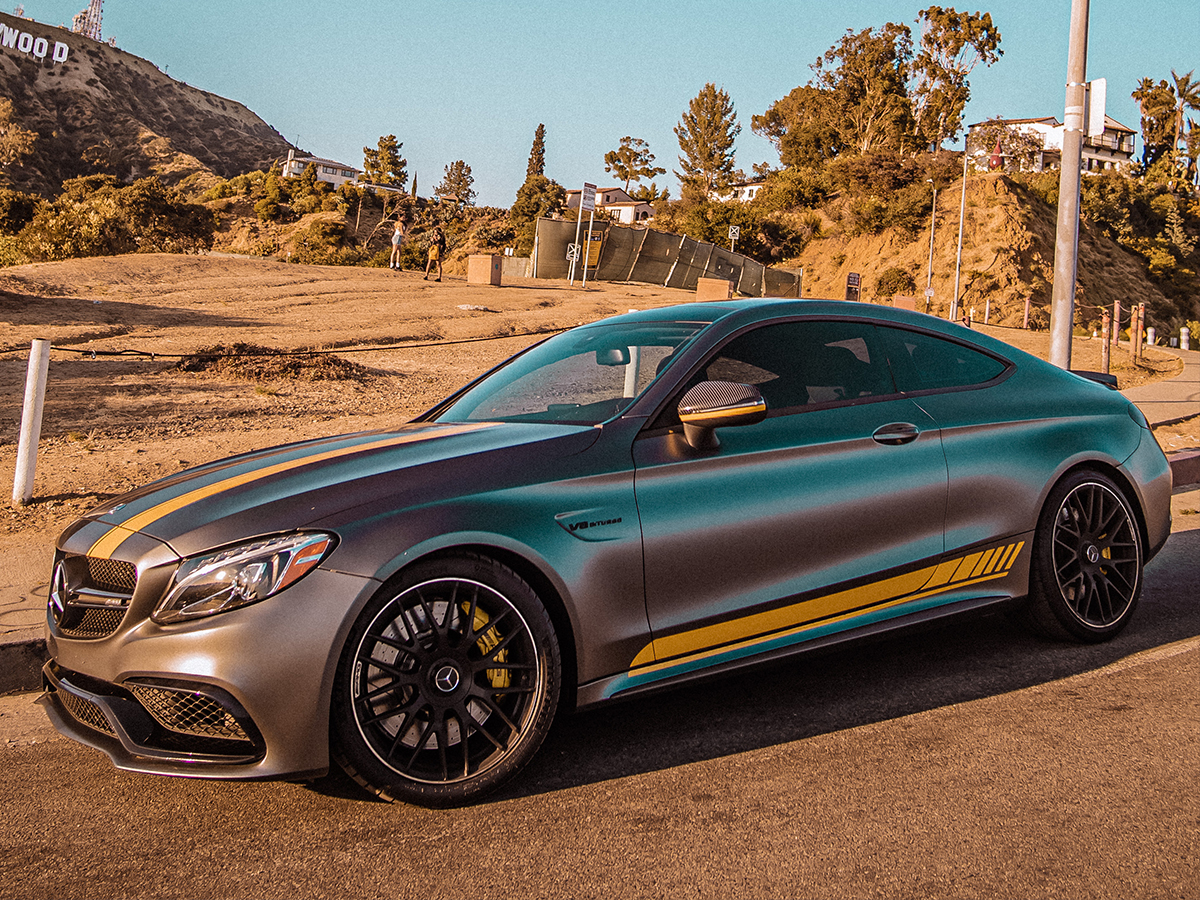 Mercedes C63 AMG S Coupe