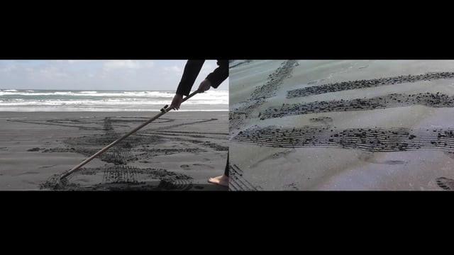 Landscape! (split screen video still)