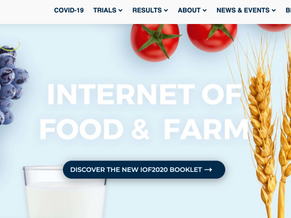 Announcing collaboration with IoF2020 & SmartAgriHubs