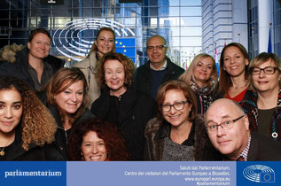 Project team in Brussels