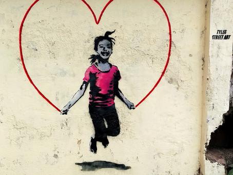 Street art from the suburbs of Mumbai
