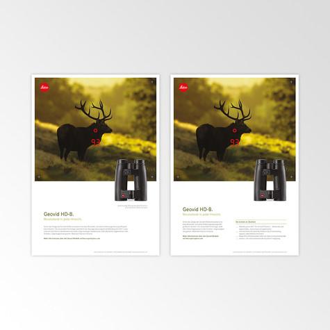 Leica Sport Optics Advertising Design